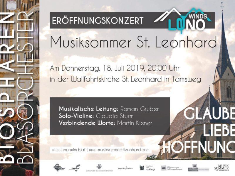 Eröffnungskonzert Musiksommer St. Leonhard