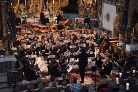LuNo Winds beim Eröffnungskonzert vom Musiksommer St. Leonhard in der beeindruckenden Kulisse der Leonhards Kirche