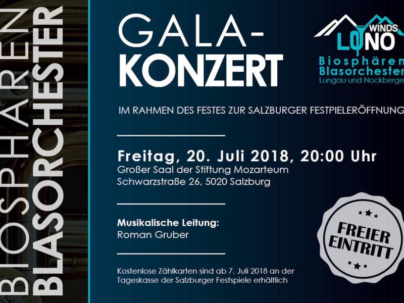 Galakonzert zur Festspieleröffnung in Salzburg