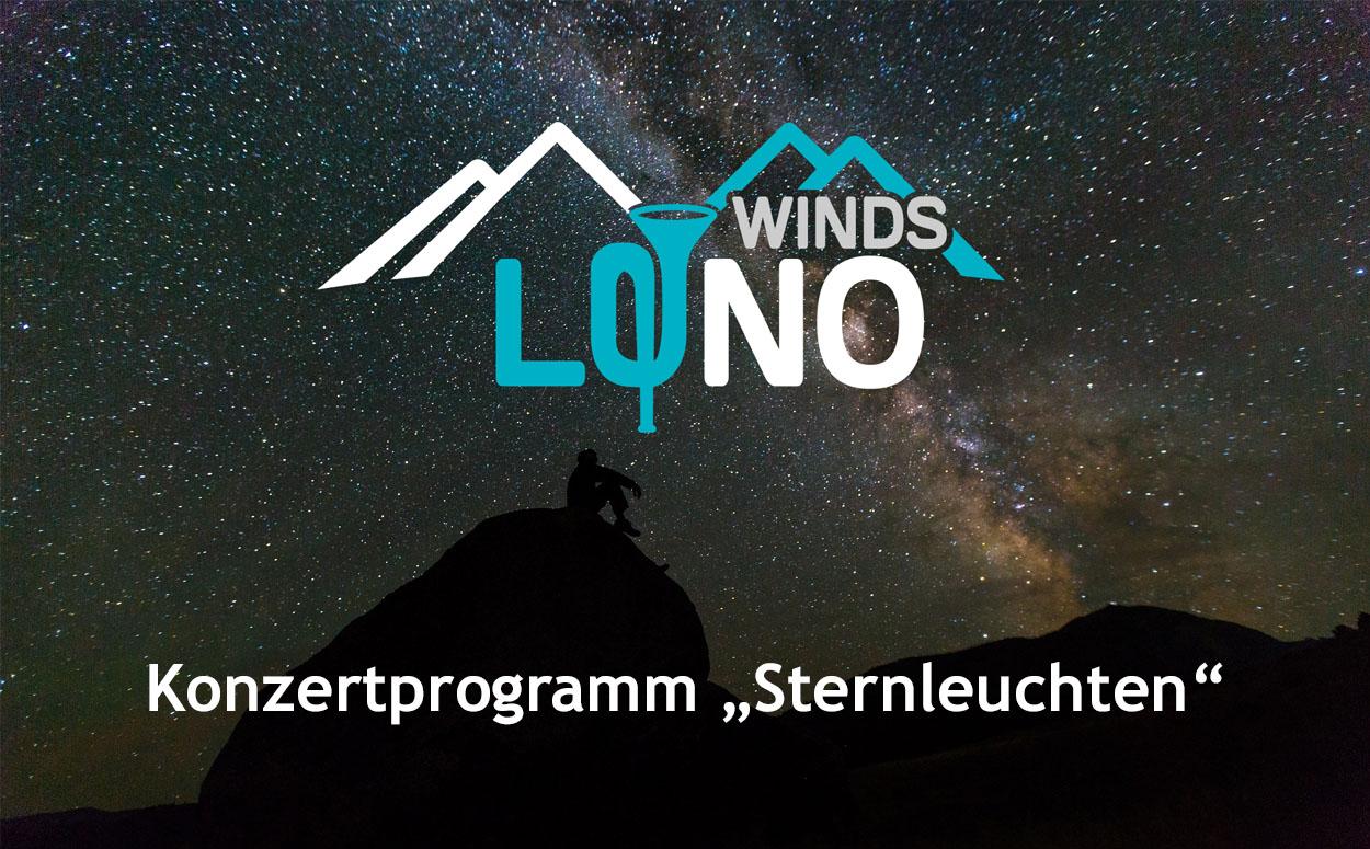 Konzert Sternleuchten Biosphärenparkorchester LuNo Winds